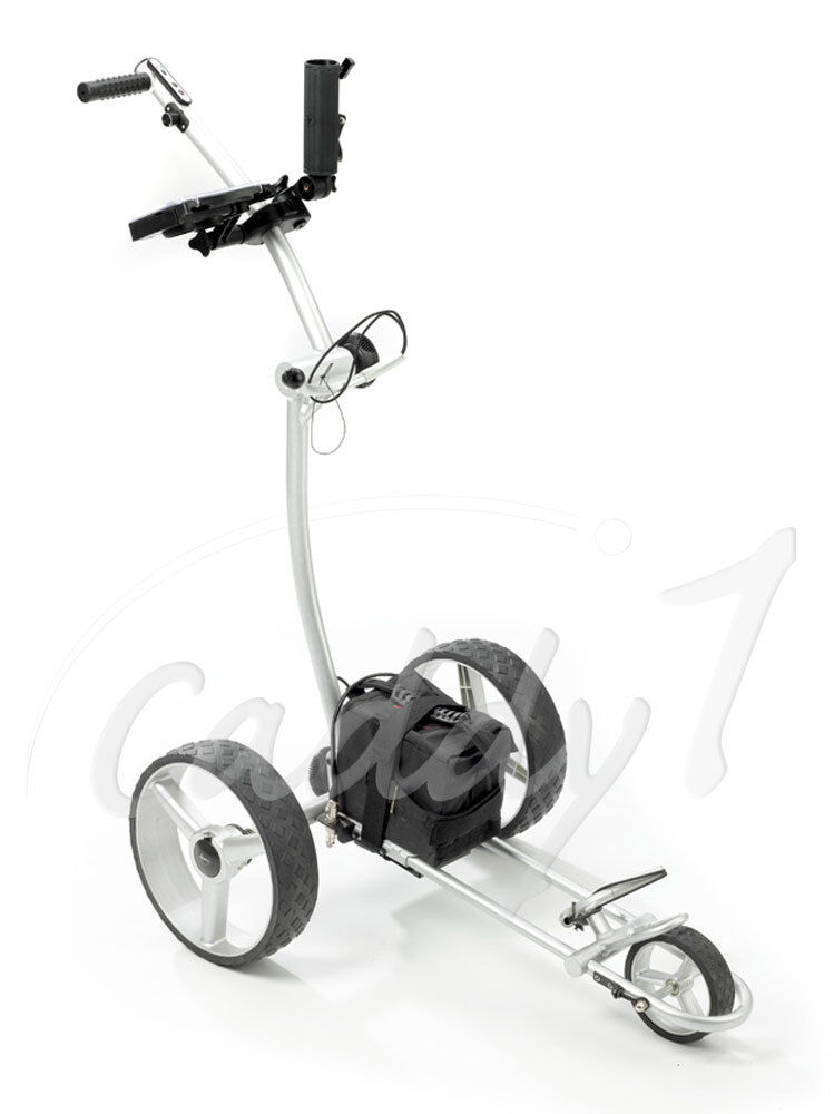 elektro golf trolley caddyone 600 300w 34ah akku ebay. Black Bedroom Furniture Sets. Home Design Ideas