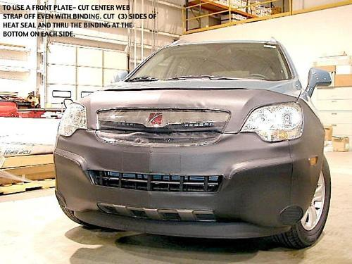 lebra front end mask cover bra saturn vue xe xr 2008 2010 ebay. Black Bedroom Furniture Sets. Home Design Ideas