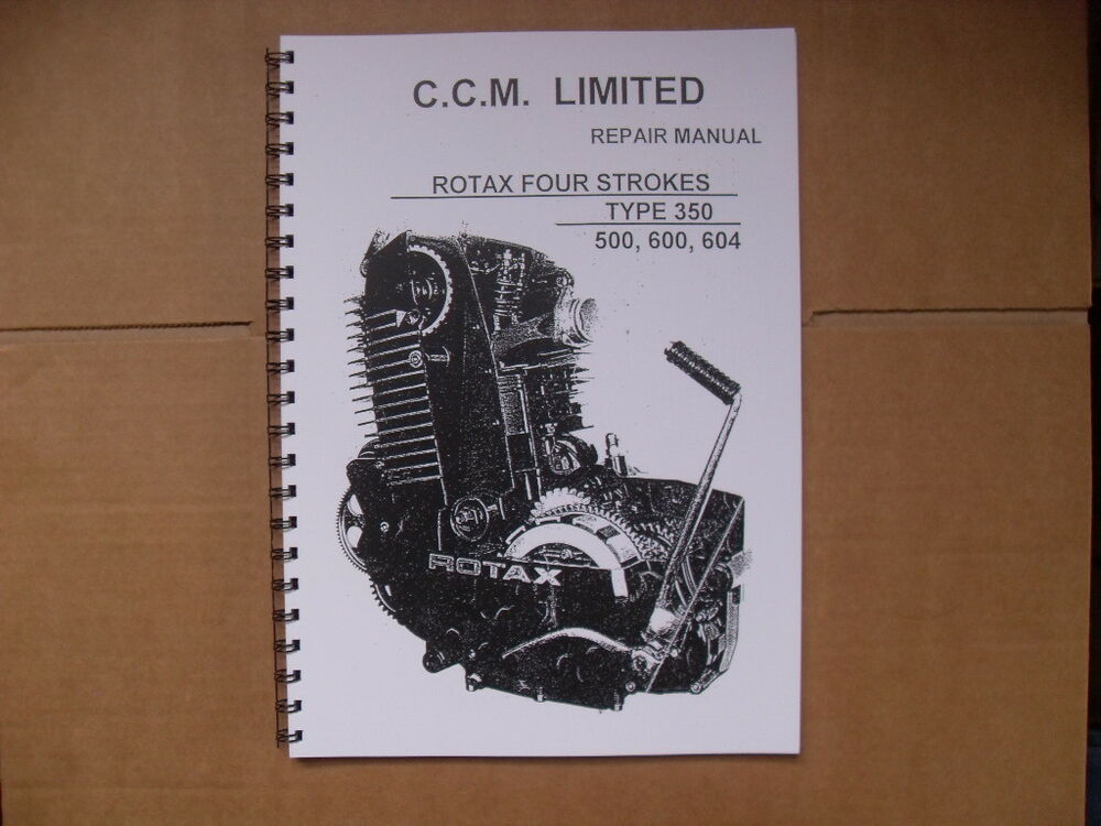 Rotax 670 factory service manual