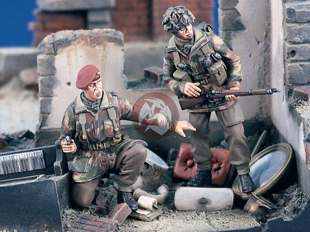 """What Is A Glider Kit >> Verlinden 1/35 """"Red Devils"""" British Paratroopers in Action ..."""