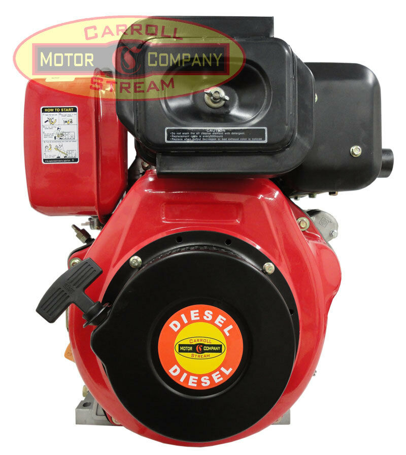 New 10hp Small Diesel Engine With Electric Start 10 Hp Ebay