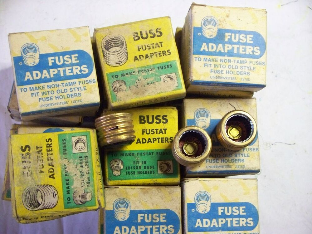 20amp type s fuse adapters price per box of 4 ebay. Black Bedroom Furniture Sets. Home Design Ideas