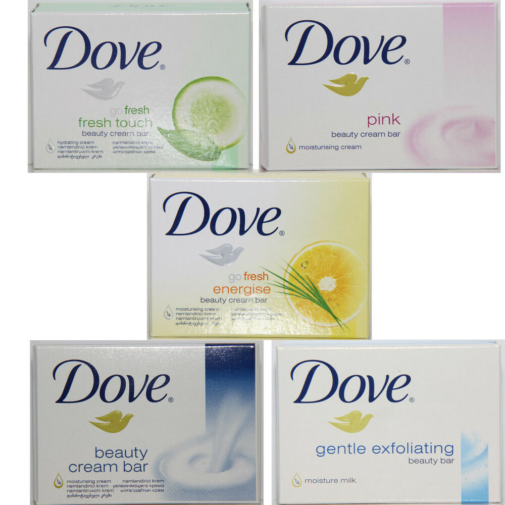 Selection of Dove Beauty Cream / Milk Bar, DOVE SOAPS (8 pack) Free Shipping  | eBay