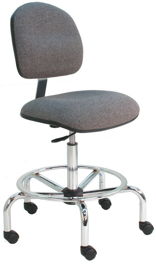 Anti Static Chairs : Benchpro esd anti static dissipative chair chrome bse ebay