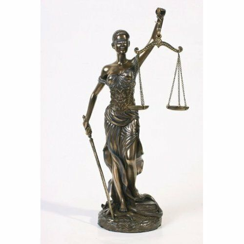 sale new blind lady scales of justice lawyer statue