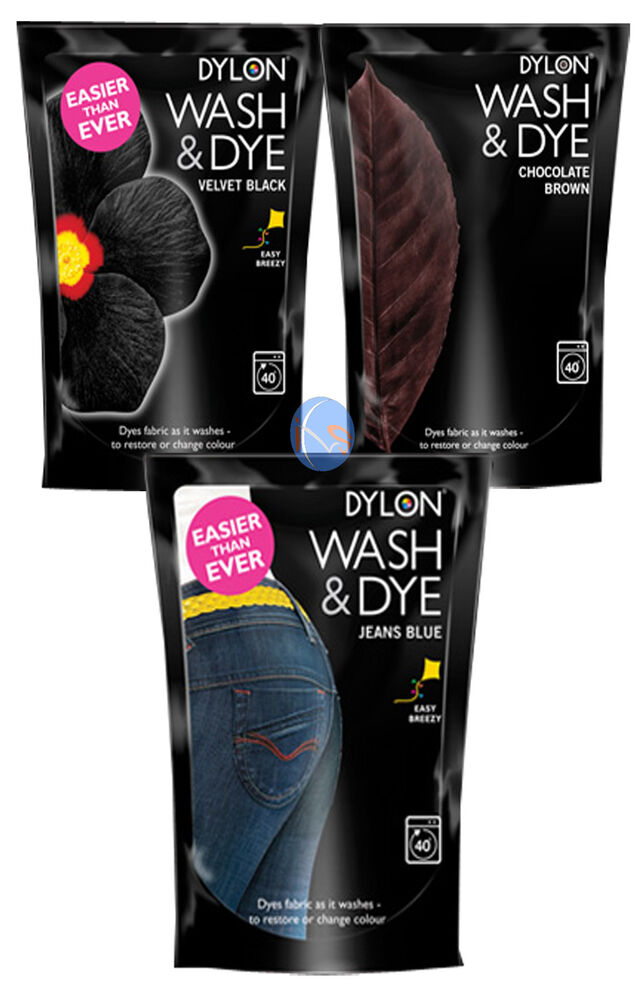 dylon wash & dye velvet black instructions