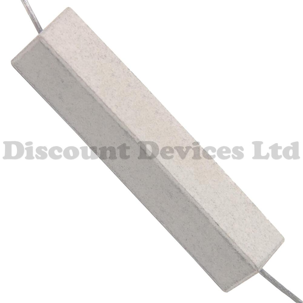 2x 47 Ohm 47r0 47r 10w 10 Watt High Power Resistor Ebay