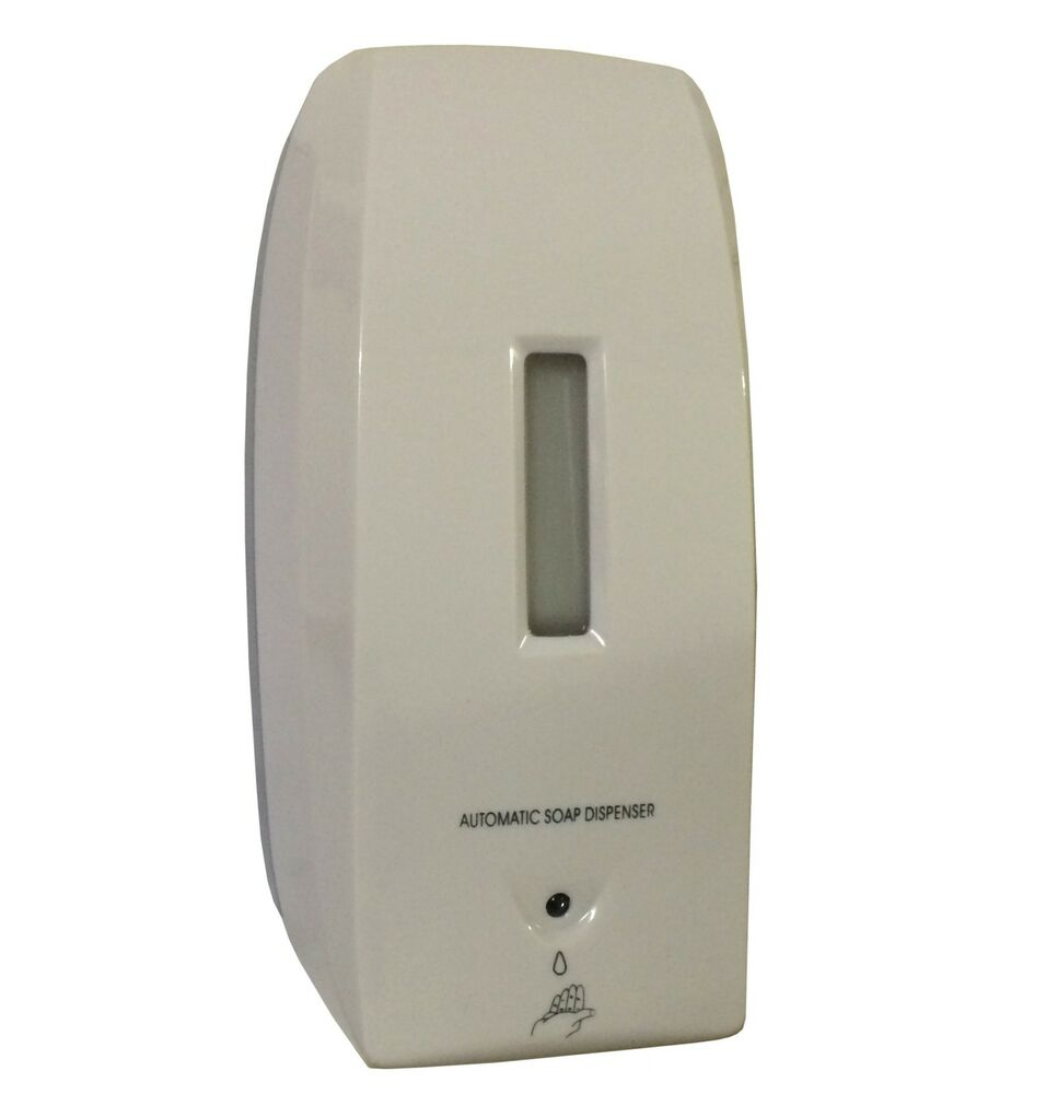 Automatic Soap Dispenser For Home ~ Auto automatic soap dispenser bulk fill hands free wall