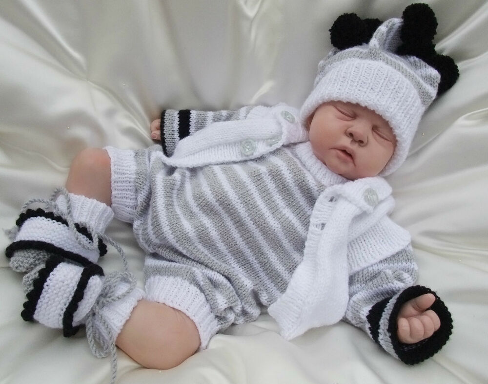 Knitting Pattern To Make A Doll : KNITTING PATTERN TO MAKE CHESTER BABY / REBORN DOLL 4 ...