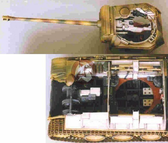 tank workshop 1 35 panther tank interior fighting compartment tamiya 353077 ebay. Black Bedroom Furniture Sets. Home Design Ideas