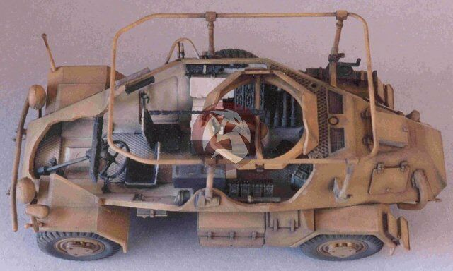 tank workshop 1 35 fu sd armored radio car interior tamiya 353046 ebay. Black Bedroom Furniture Sets. Home Design Ideas