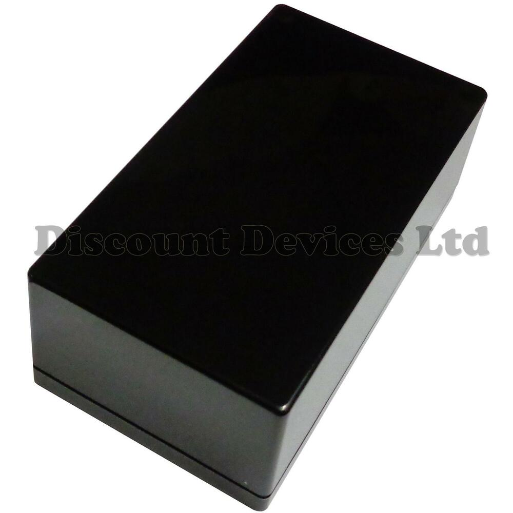 Black Abs Plastic Enclosure Small Project Box For