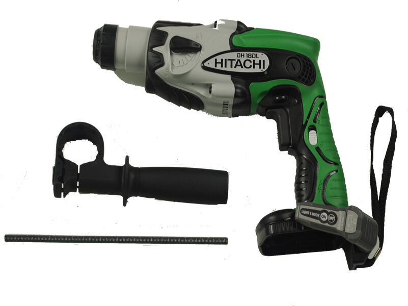 new hitachi dh18dl 18v rotary hammer drill tool only ebay. Black Bedroom Furniture Sets. Home Design Ideas