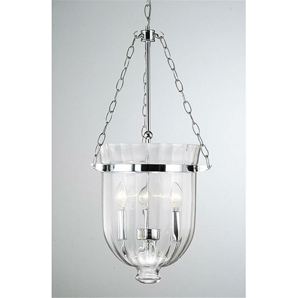 Pendant Lighting By Rustic State Authentic Vintage Lights: RUSTIC OLD FASHIONED GLASS CHROME CEILING PENDANT