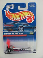 HOT WHEELS 1998  DRIVEN TO THE MAX WHITE COLLECT. #808