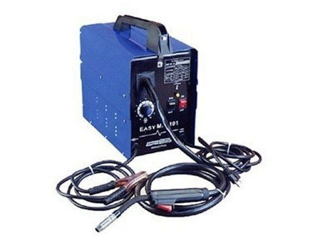 90 amp electric mig welder flux wire mig welder ebay. Black Bedroom Furniture Sets. Home Design Ideas