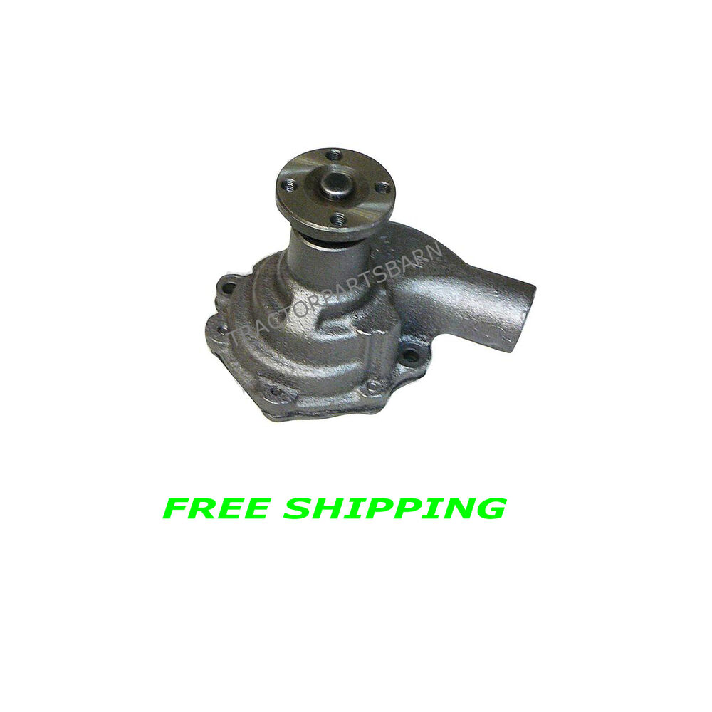 601 Ford Tractor Hydraulic Pump : Ford tractor new water pump