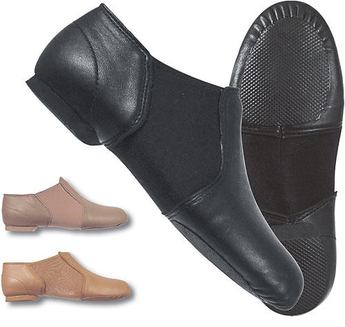 Dance Class by Trimfoot GB100 Black Split Sole Jazz Shoe ...