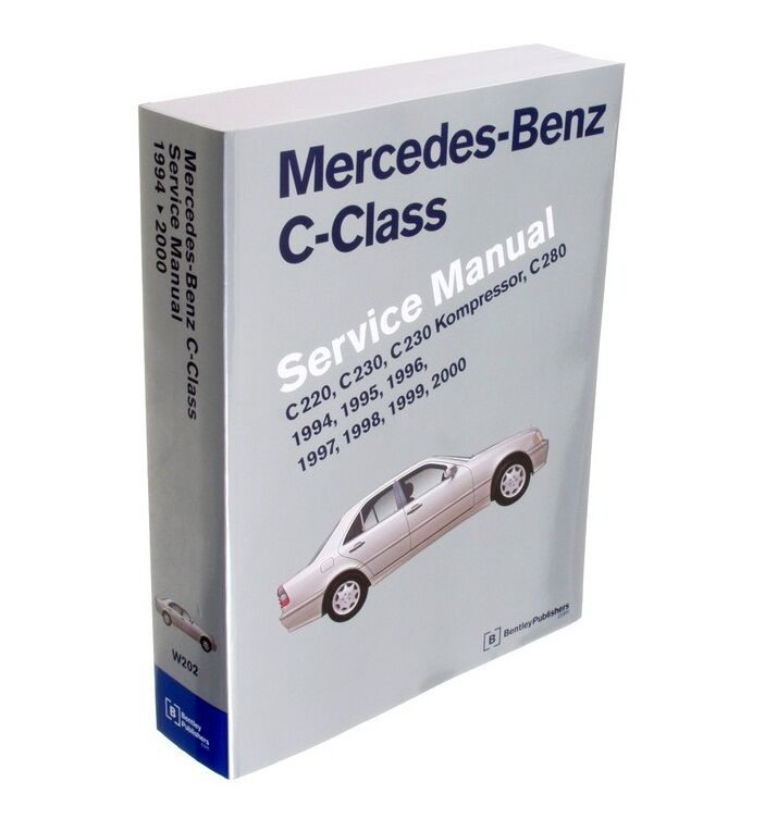 Mercedes w202 c class c220 c230 c280 service repair manual for Mercedes benz online repair manual