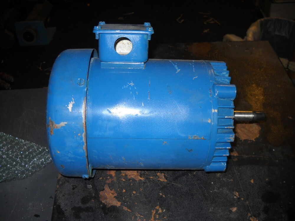 Used franklin electric 1311007120 industrial motor 1 2hp for Used industrial electric motors