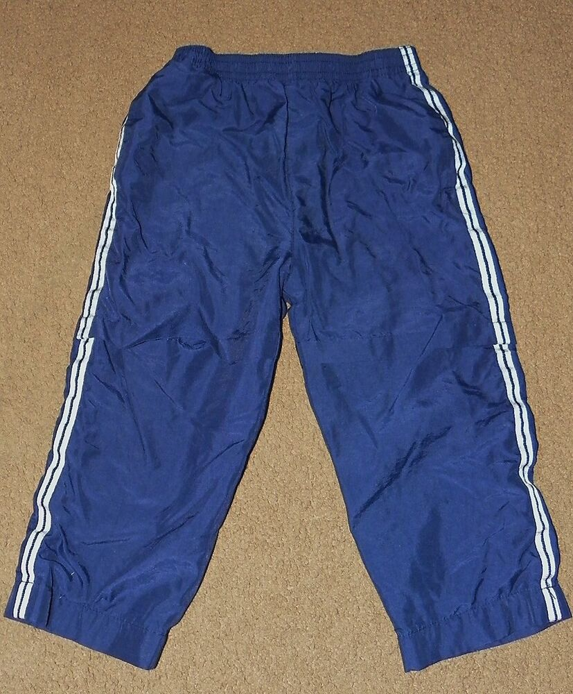 Boys Athletic Works Navy Blue Wind Pants Size 24 Months