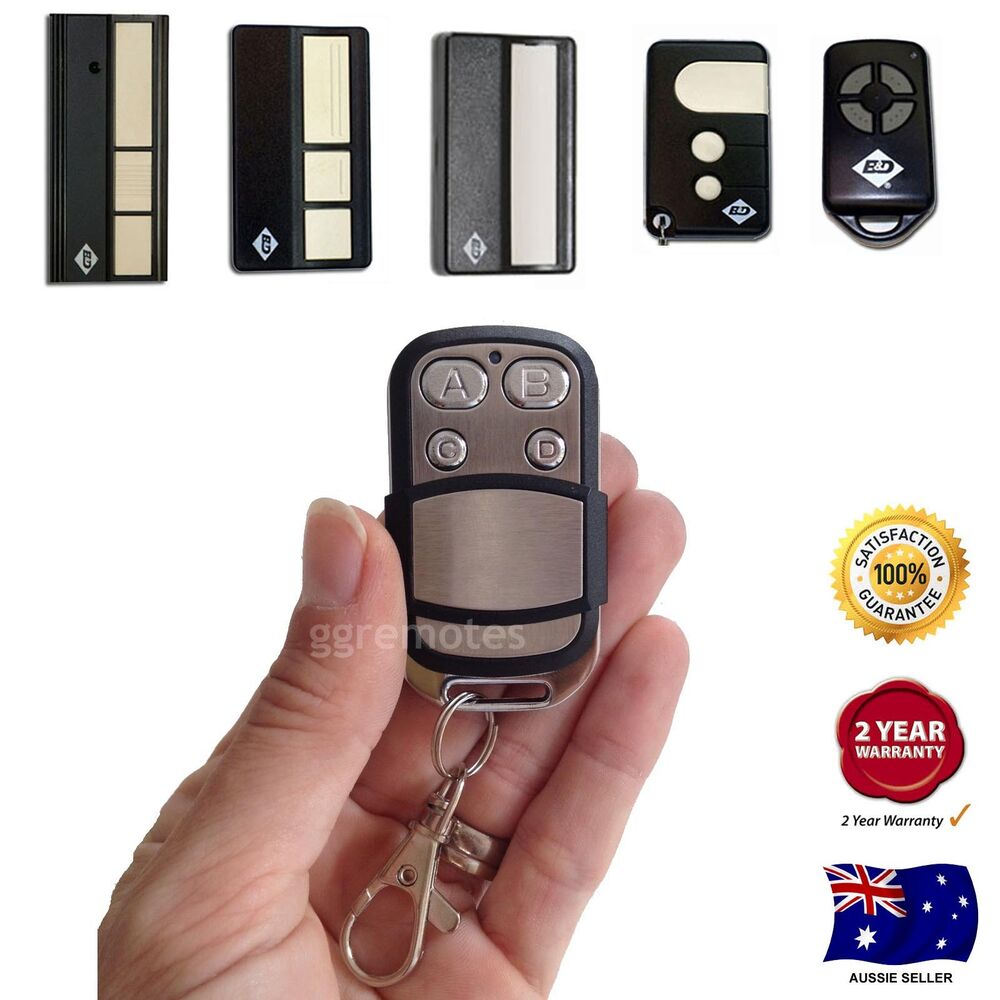 Garage Remote Control Suits B Amp D Easylifter Econolift Cad4