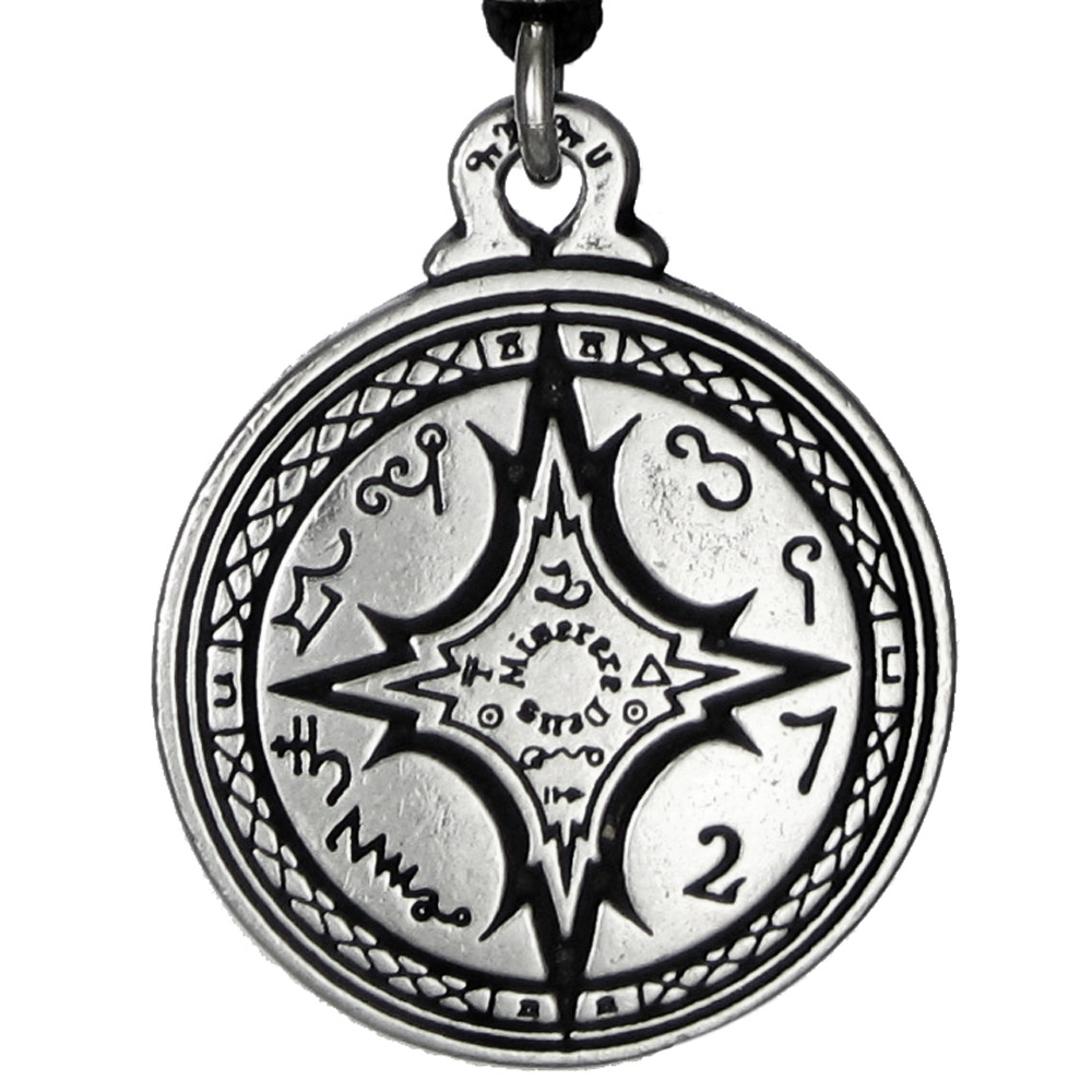 talisman for mastery of the magical arts pendant seal