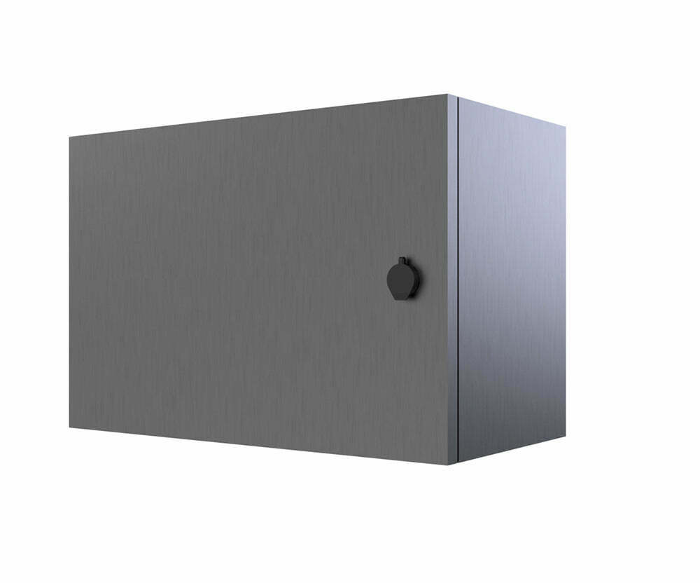 316 stainless steel electrical enclosure 400hx600wx200d ebay