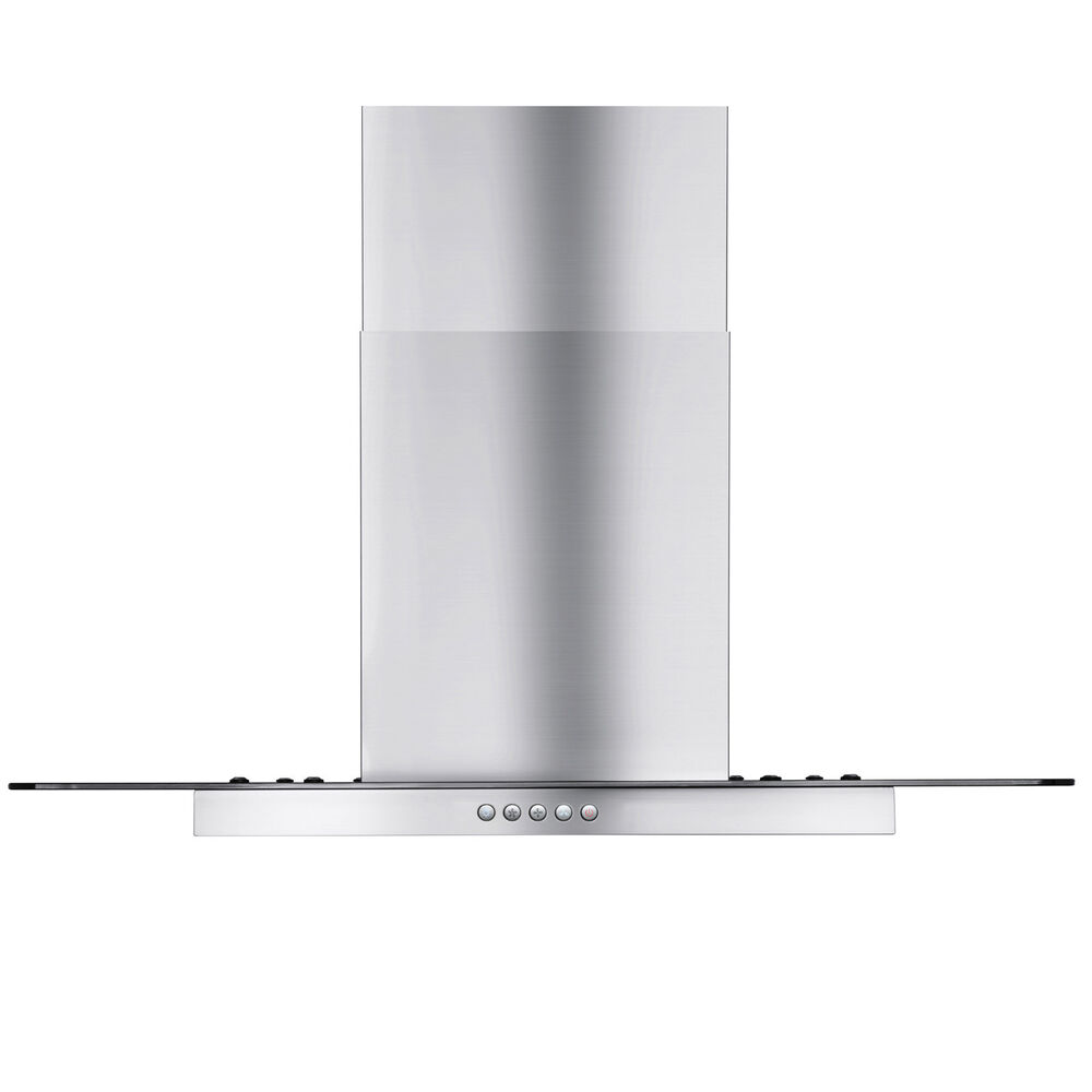 Glass Cooking Hoods ~ Gtc europe kitchen glass stainless steel island mount