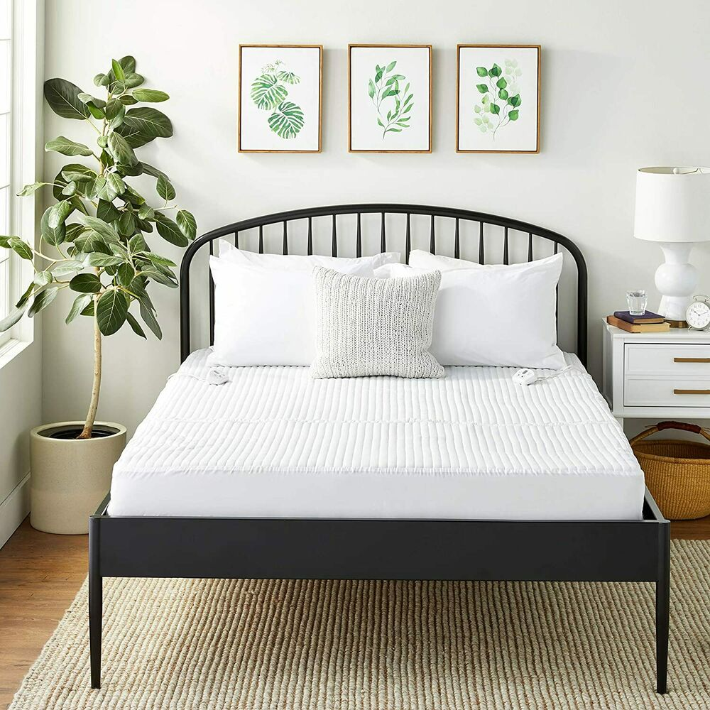 Electrowarmth King Heated Mattress Pad 76x80 2controls