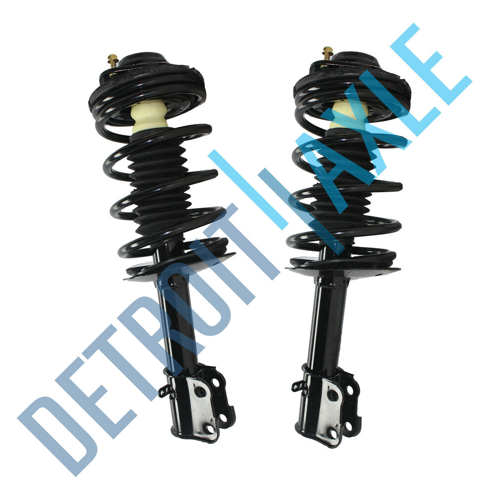 Pair (2) NEW Complete Front Struts & Springs Assembly For