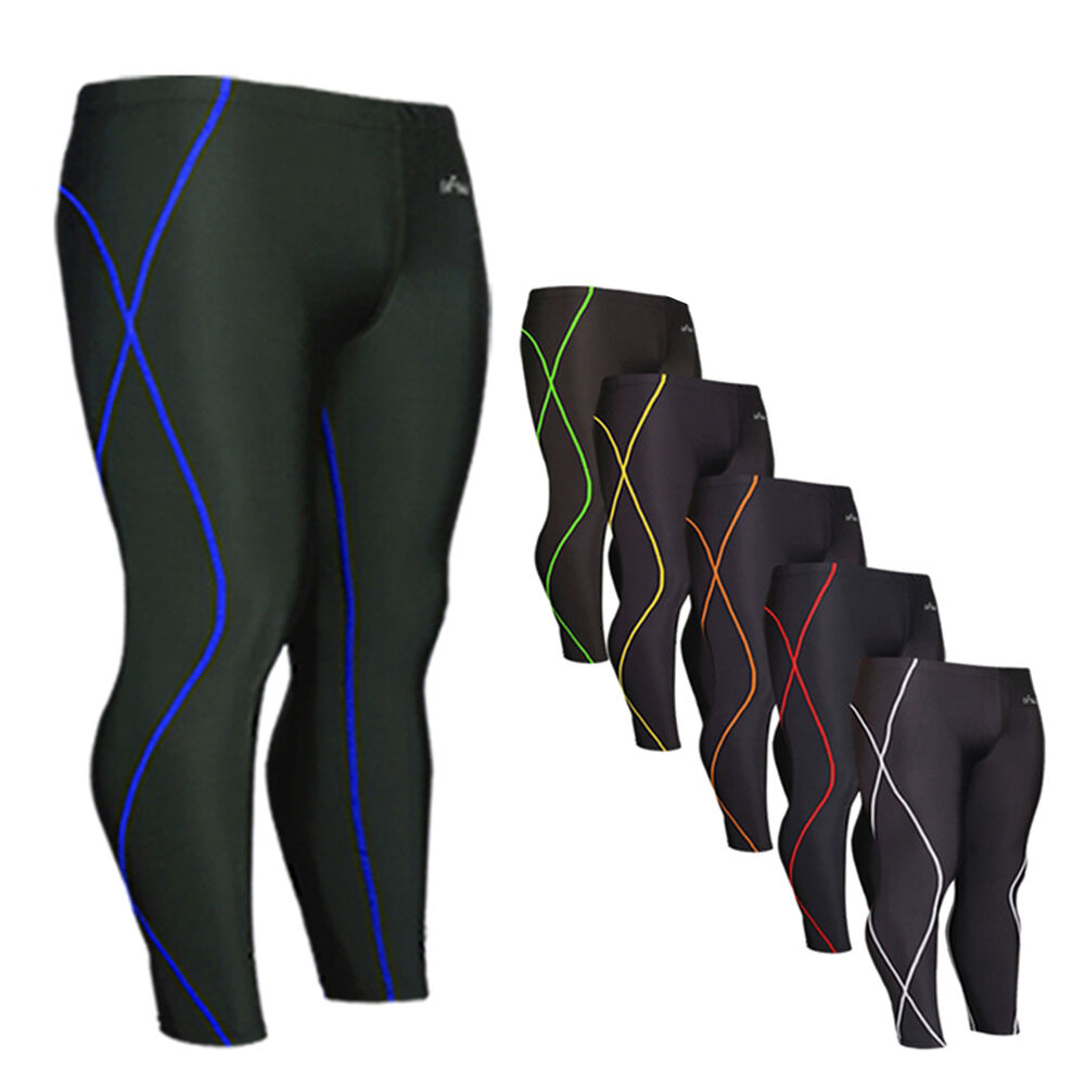 The tights recommended below for men and women are suitable for most sports and fitness activities, including running. What are the best men's compression pants? There is a large selection of men's compression tights available.