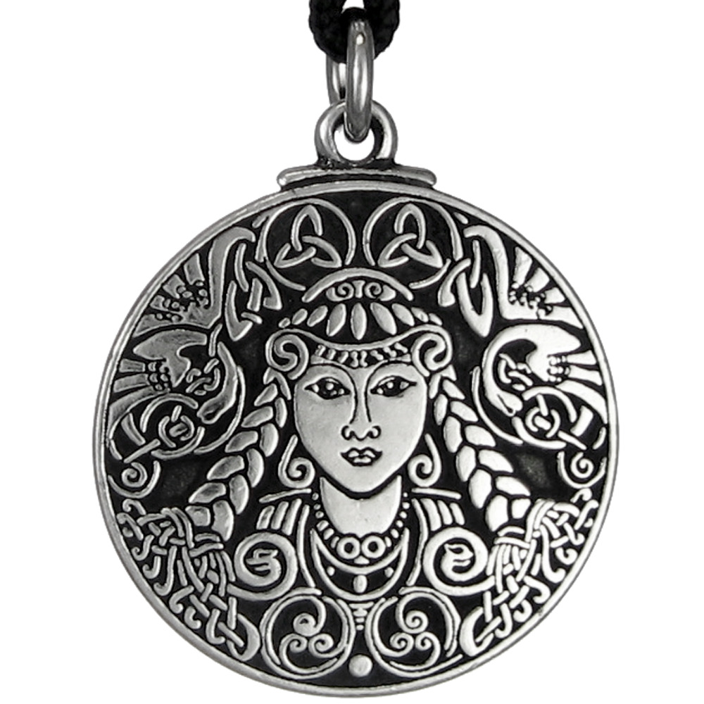 brigid celtic goddess jewelry necklace pendant brigit