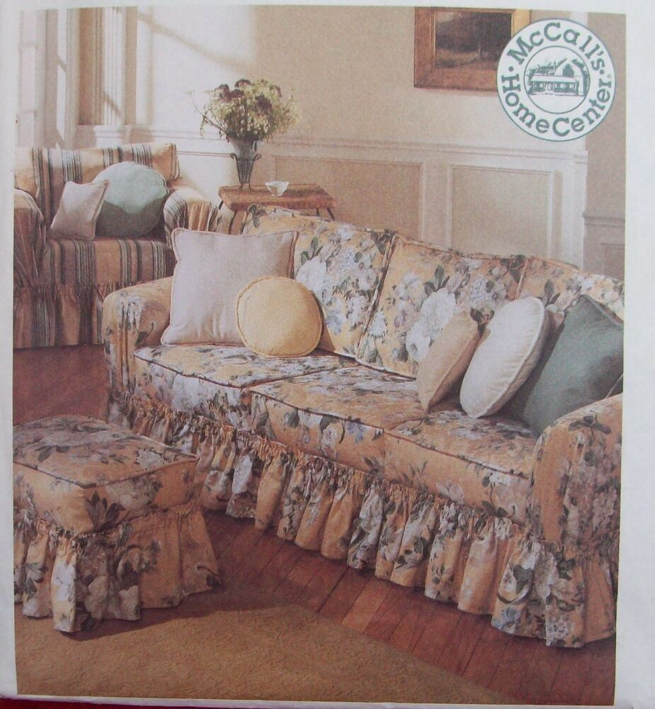 Home Decor Pattern Couch Slip Cover Ottoman Club Chair
