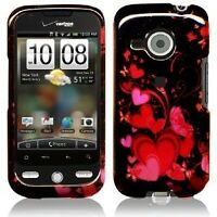 Red Love Phone Cases Skin Cover for HTC Droid Eris