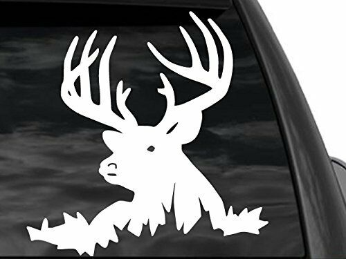 Big Buck Head Deer Hunting Car Or Truck Window Decal 12