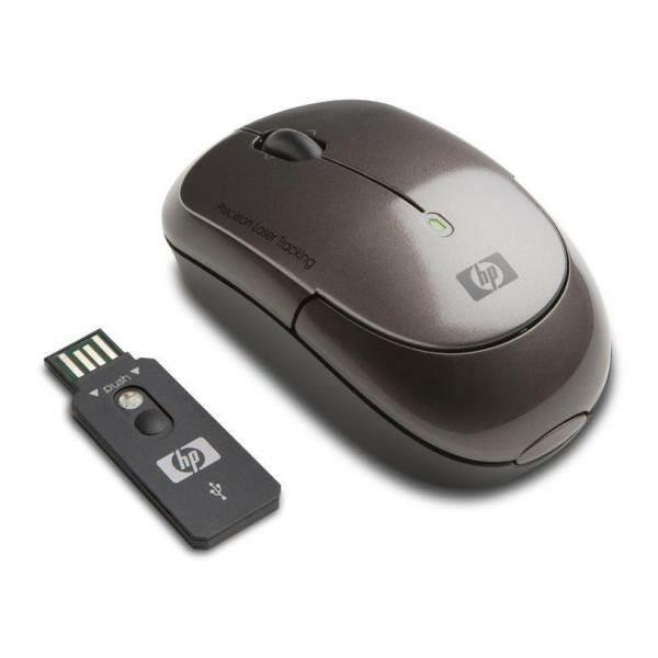 how to connect wireless mouse to laptop hp