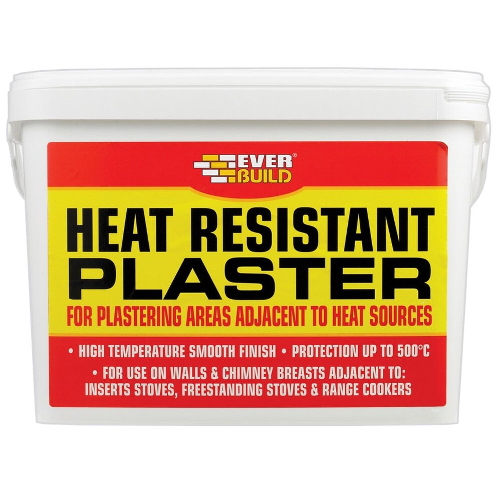 High Heat Mortar Mix : Everbuild heat resistant plaster mix heatproof high