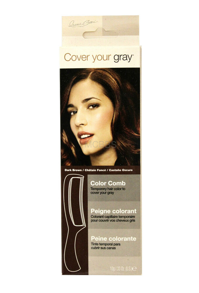 Cover Your Gray For Women Touch Up Hair Color Comb Choose