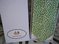 VERA BRADLEY for BAEKGAARD Men's Neck Tie PETAL PINK - GREEN LEOPARD New, Silk
