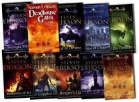 Steven Erikson Collection The Malazan 10 Book of the Fallen Series Set Pack New