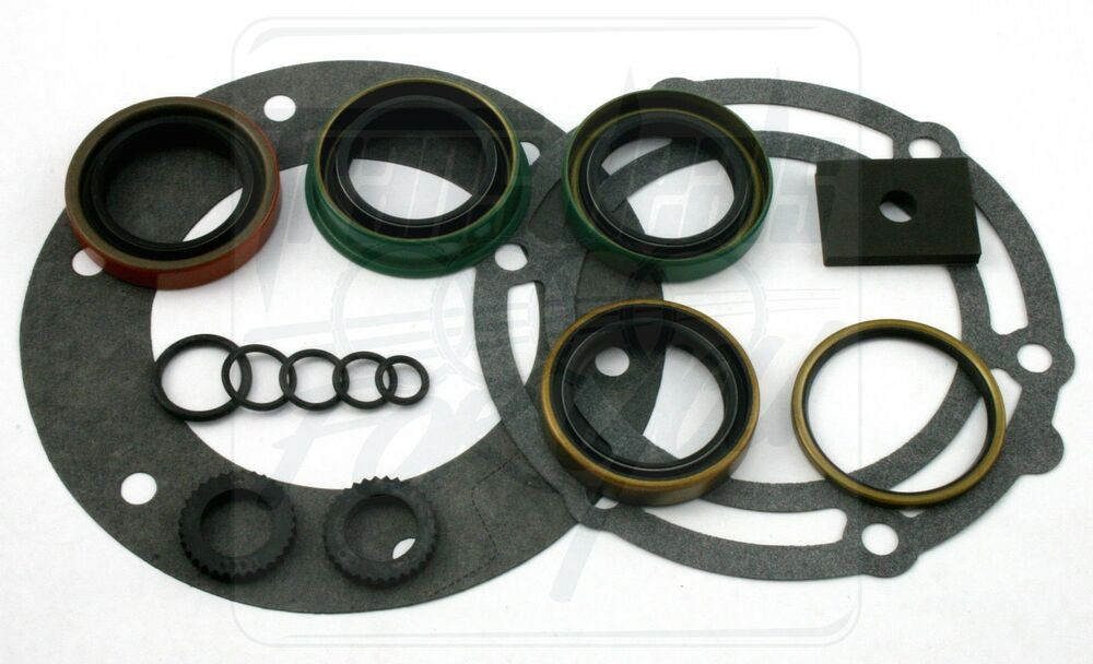 Dodge Truck Parts >> NP208 208 NP241 New Process Chevy Dodge Ford Jeep Transfer Case Seal Gasket Kit | eBay