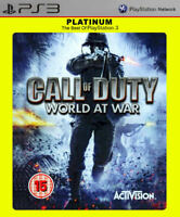 Call of Duty World at War ~ PS3  (in Good Condition)
