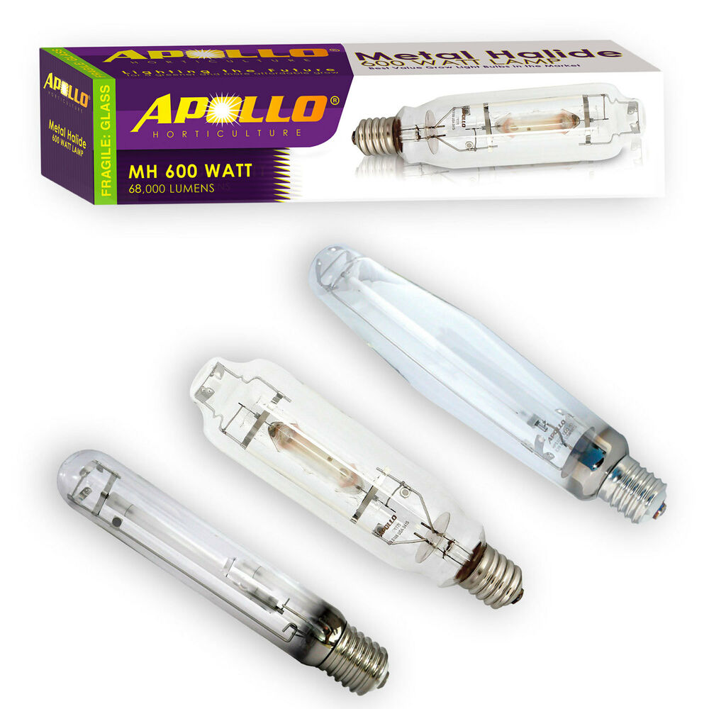 Apollo Horticulture 400w 600w 1000w Watt Mh Hps Grow Light