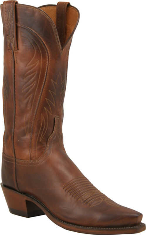 Beautiful Lucchese M5618 Womens Tan Burnished Brown Ostrich Leg Western Cowboy Boots | EBay