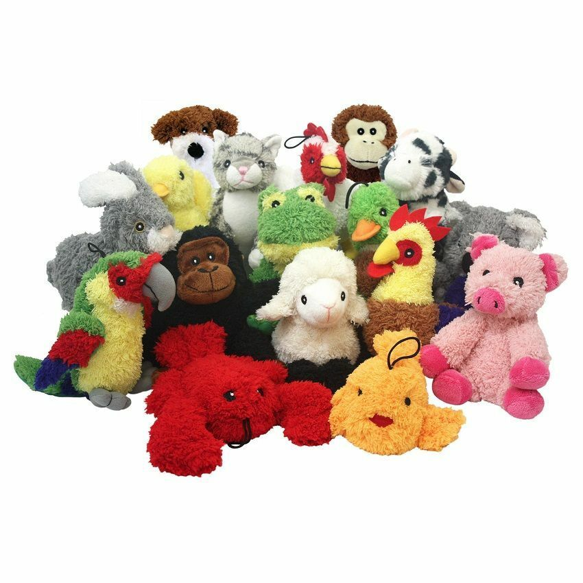 Multipet Look Who's Talking Dog Toy With REAL ANIMAL Sound