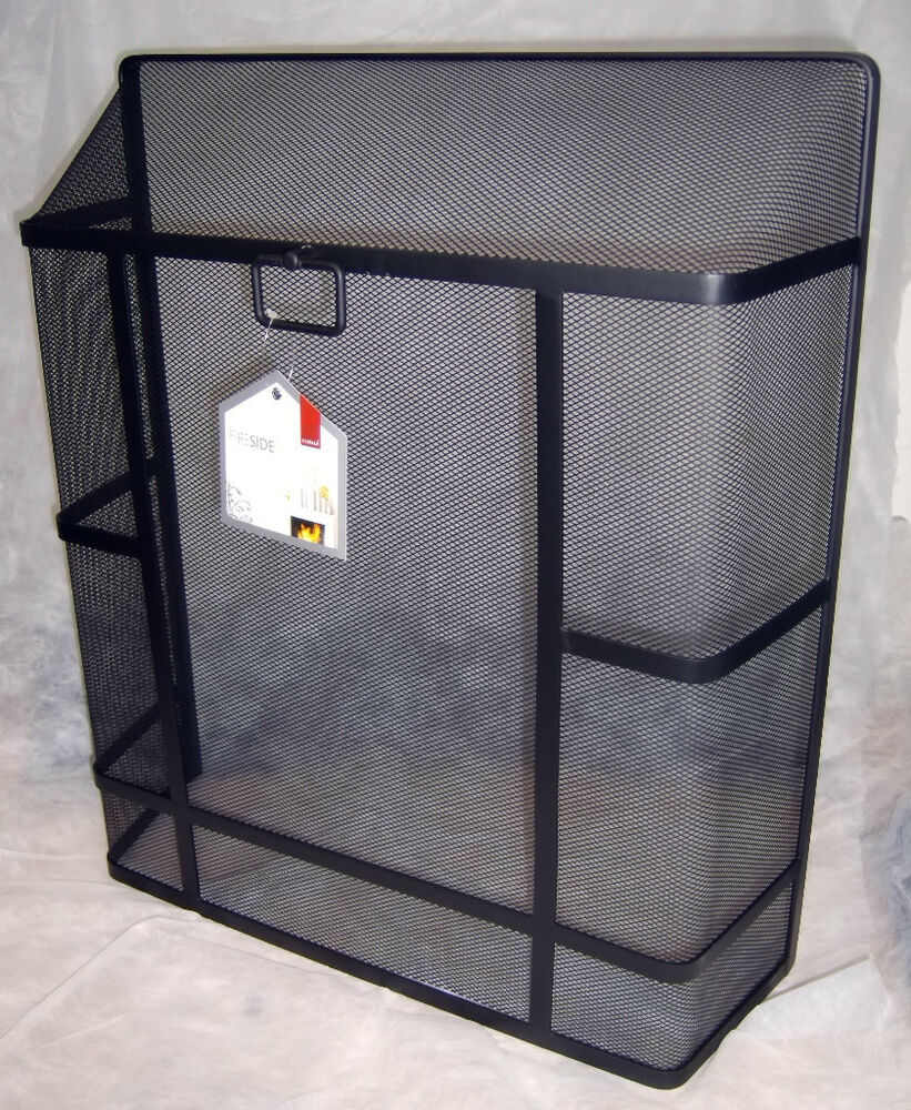 X Large Deville Heavy Duty Square Top Fire Screen Spark