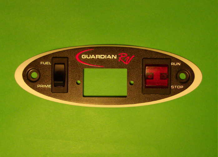 Generac    Guardian RV Replacement    Remote       Start    Panel Face   Switches   eBay