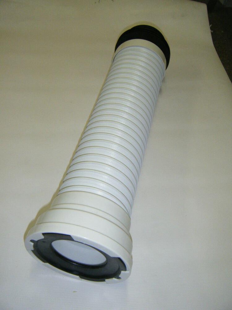 toilet waste soil pipe flexible pan connector up to 505mm. Black Bedroom Furniture Sets. Home Design Ideas