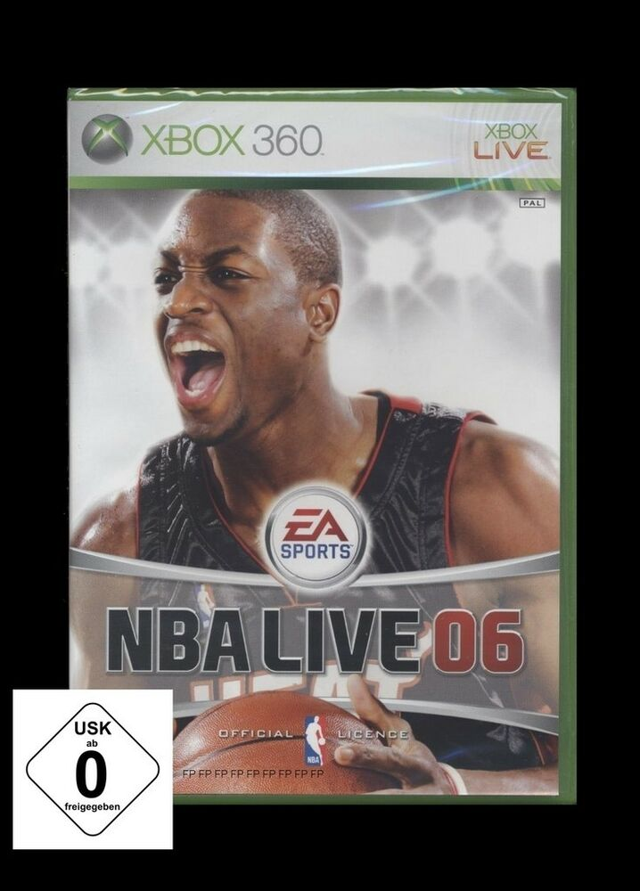 Xbox nba live ea sports basketball